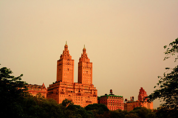View of the San Remo from Central Park, New York City