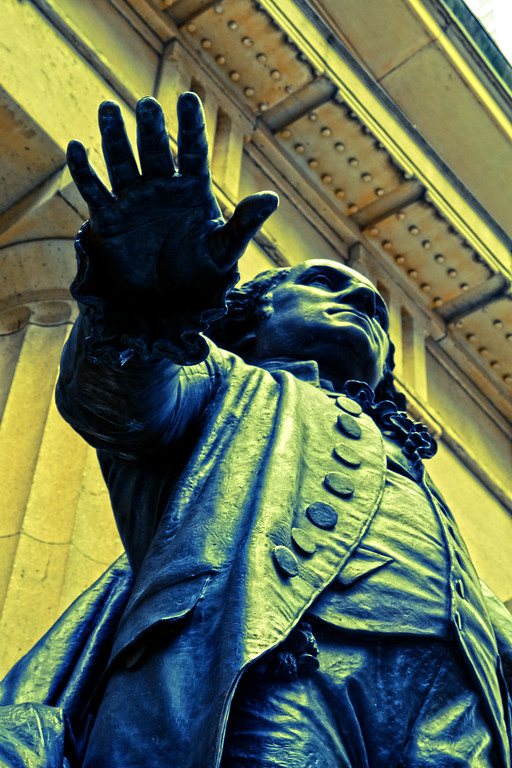 George Washington Statue,Federal Hall, Wall St., New York City