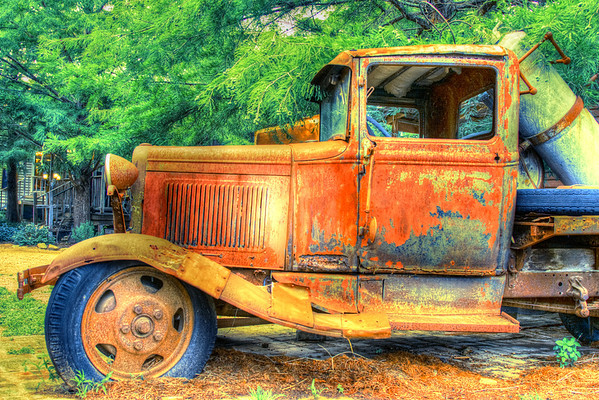 Old Truck, Bastrop Texas