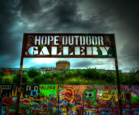 Hope Outdoor Gallery before the storm #7